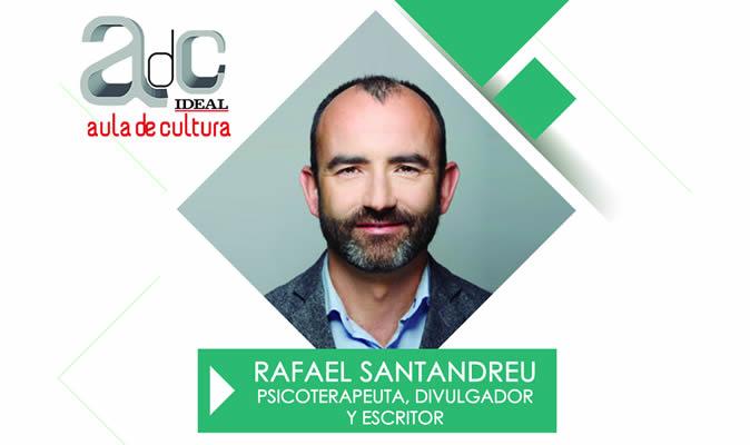 Rafael Santandreu en el Aula de Cultura